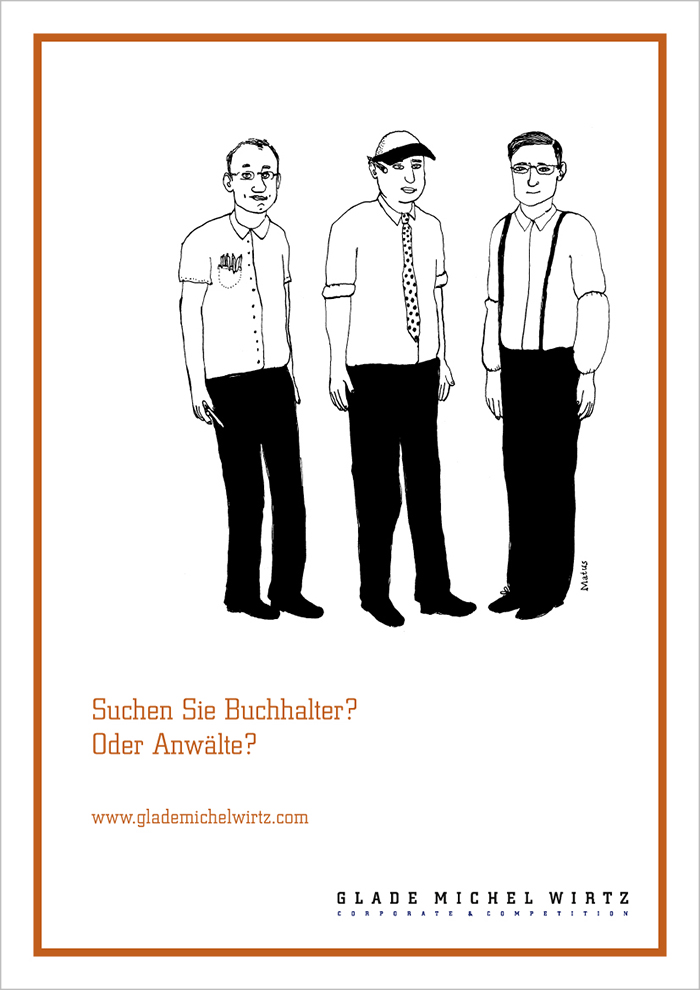 """Image-Anzeige Glade Michel Wirtz """"Buchhalter"""""""