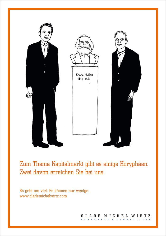 """Image-Anzeige Glade Michel Wirtz """"Marx"""""""